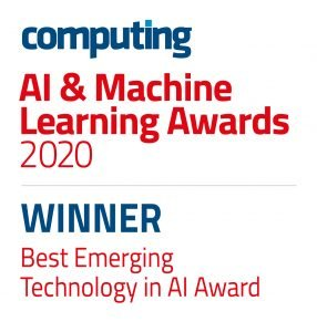 CTGAIMLA WINNERS Best Emerging Technology in AI Award